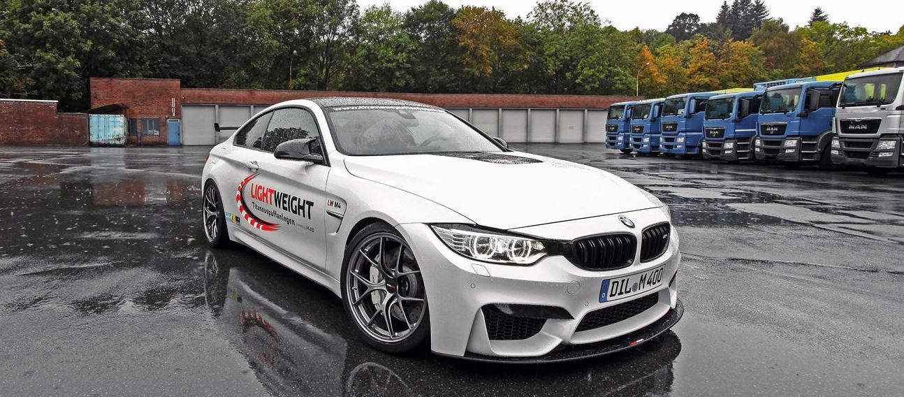 BMW M4 Coupe Tuned-up by Lightweight