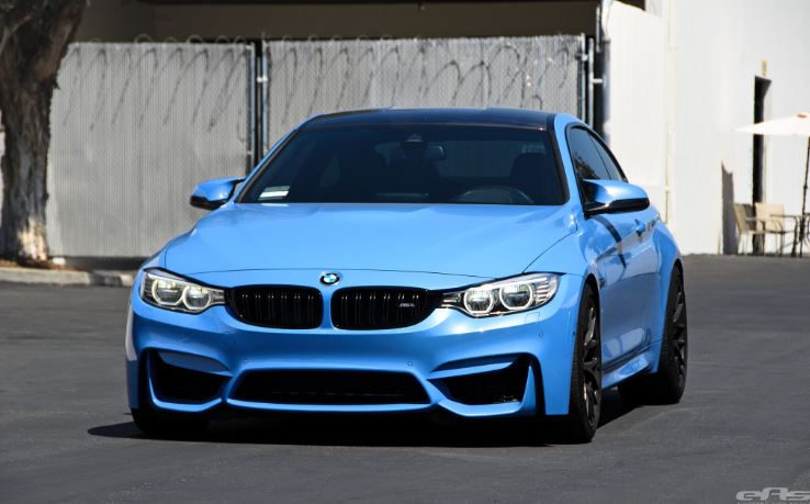 BMW M4 Fitted with Matte Black GTS Wheels
