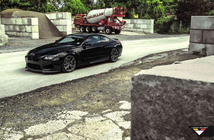 BMW M6 Black Sapphire M6 with Vorsteiner Kit