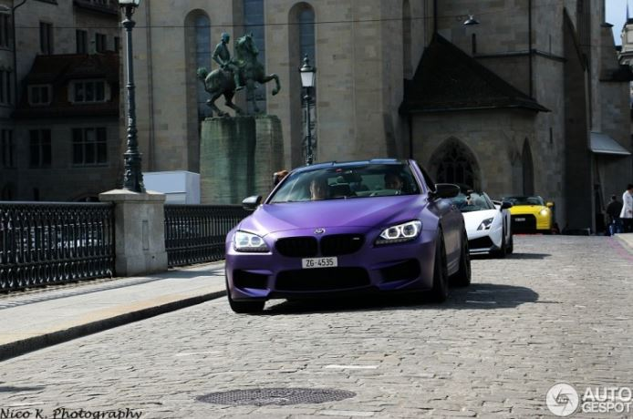BMW M6 Coupe Purple by G-Power