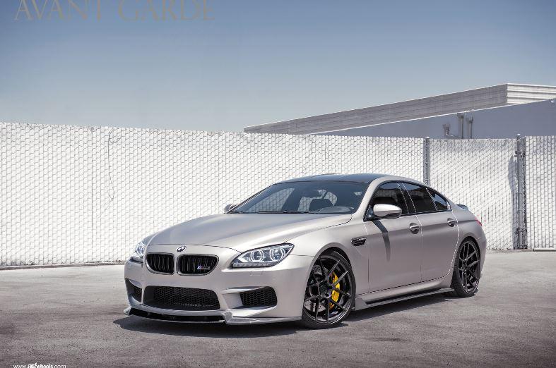 BMW M6 Gran Coupe Riding on Avantgarde Wheels
