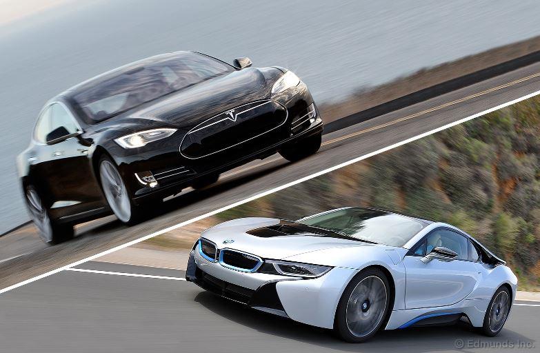 BMW i8 vs. Tesla Model S
