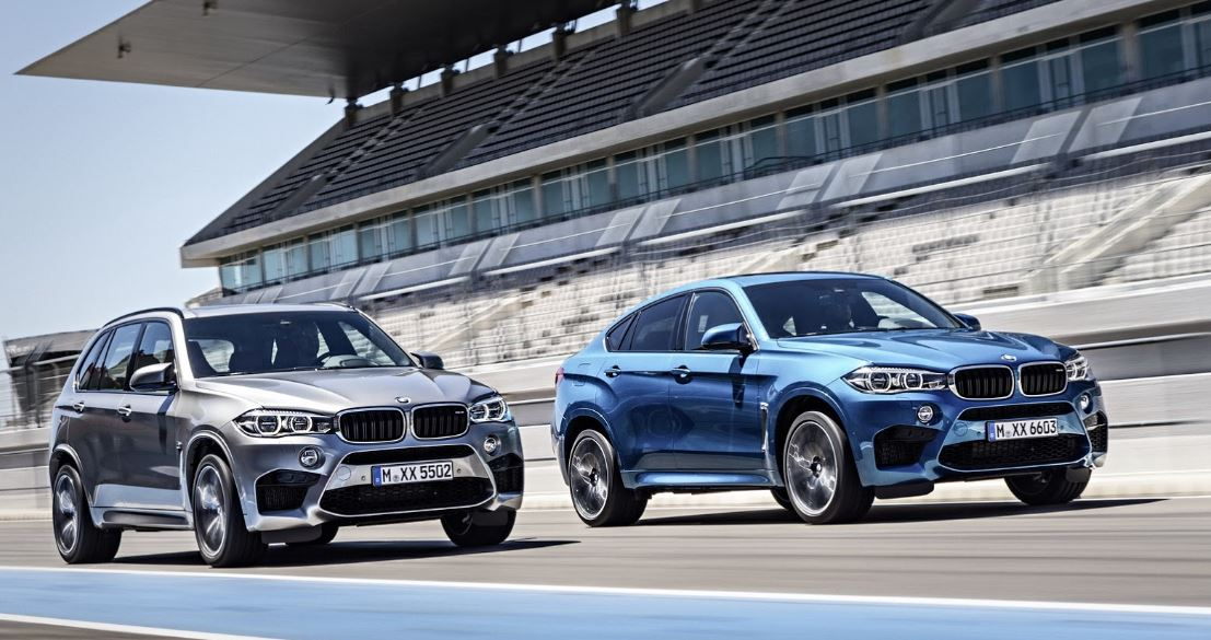 2015 BMW X5 M and X6 M Unveiled Ahead 2014 Los Angeles Auto Show