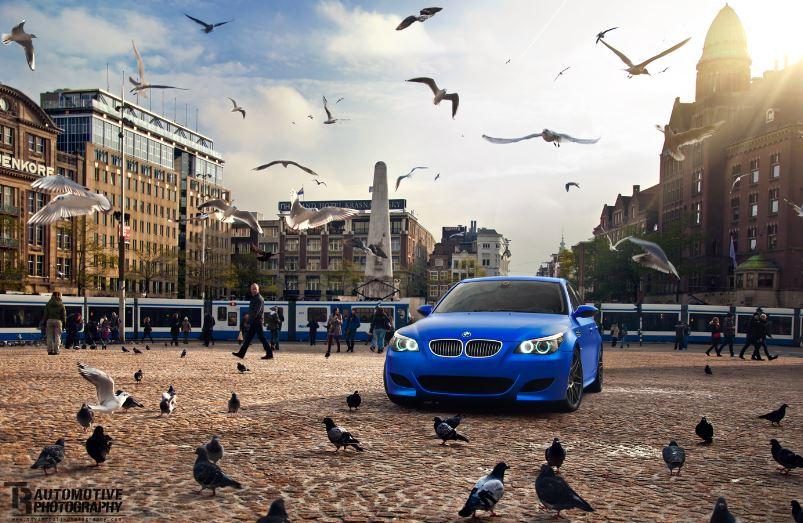 BMW E60 M5 Matte Blue