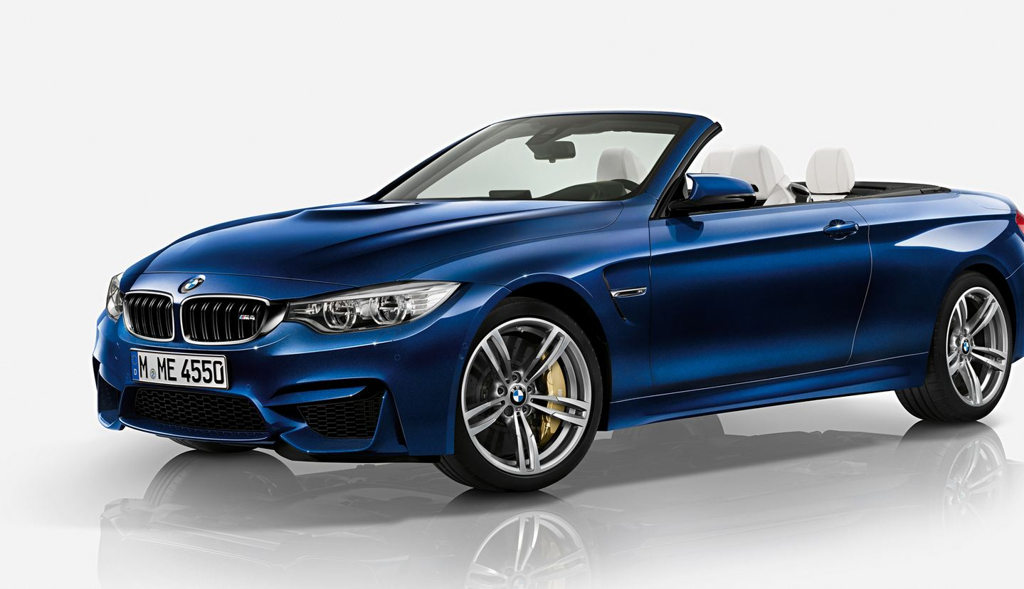 BMW M4 Convertible Tanzanite Blue