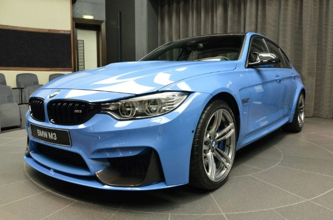 F80 BMW M3 with M Performance Parts