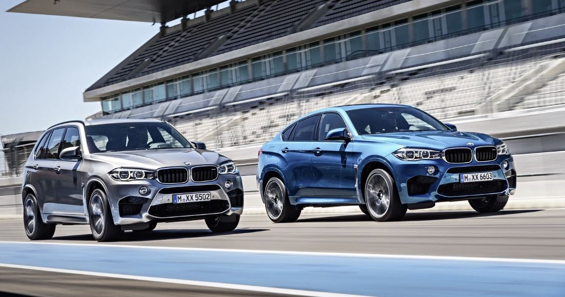 2015 BMW X5 M and BMW X6 M Photo Gallery