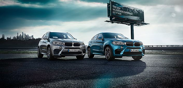 2015 BMW X5 M and BMW X6 M Design and Options Revealed