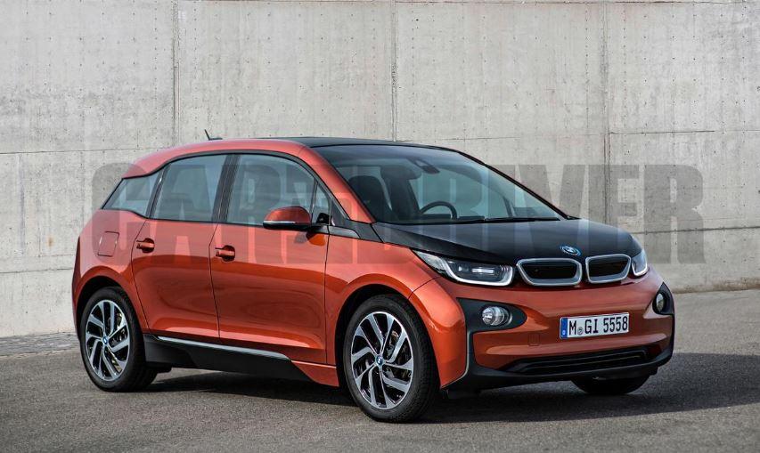 2017 BMW i5 Rendering