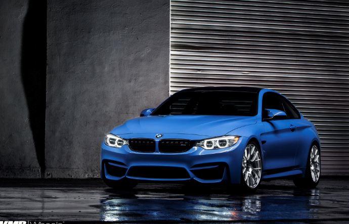 F82 BMW M4 Yas Marina Blue Coming with VMR Wheels