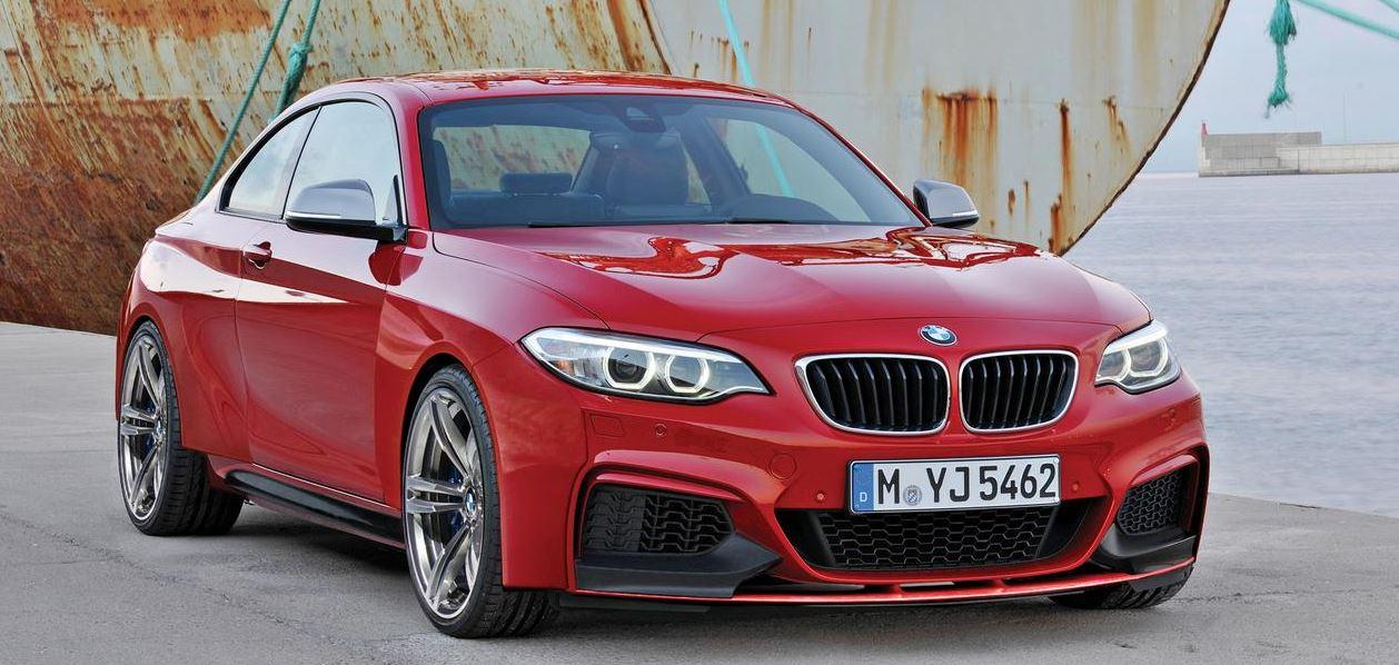 BMW M2 Goes to 2015 Frankfurt Motor Show