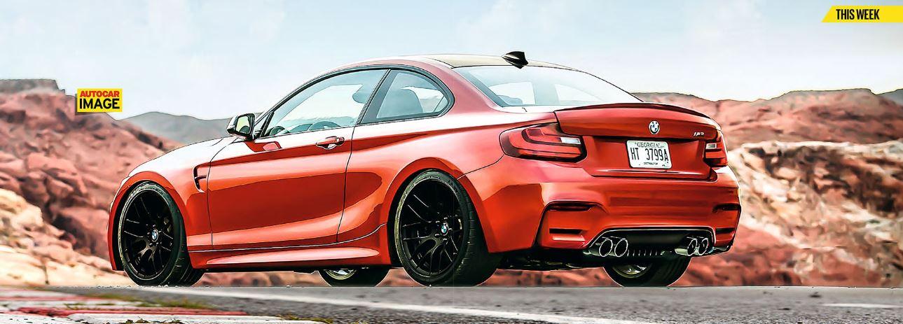 Bmw M2 Goes To 2015 Frankfurt Motor Show Bmwcoop