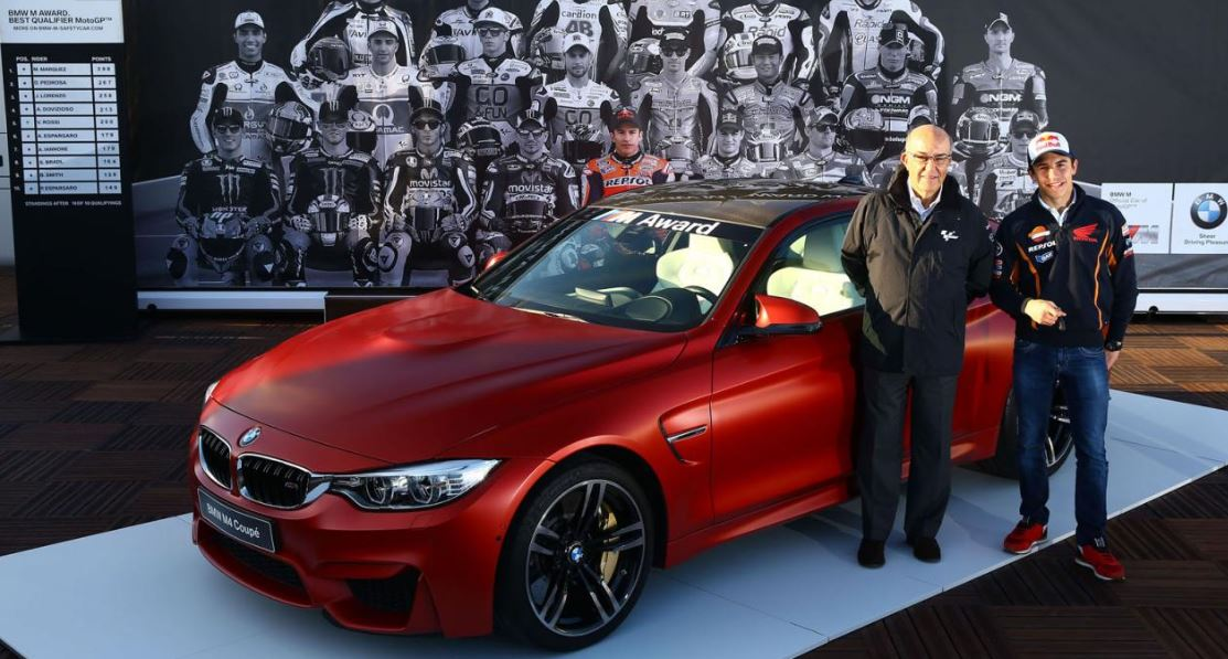 BMW M4 Coupe Given Away to Marc Marquez