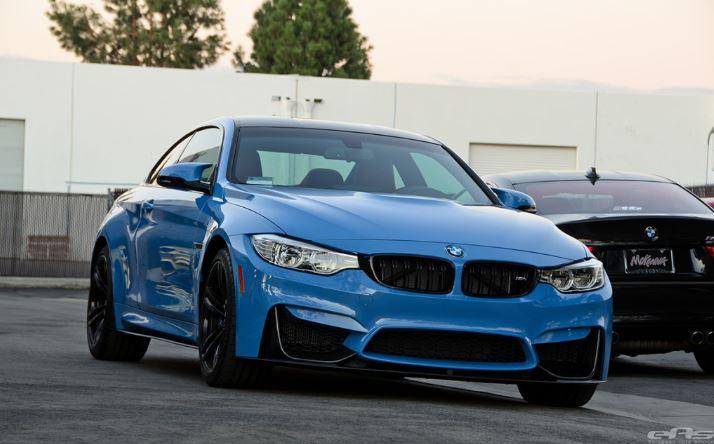 BMW M4 Yas Marina Blue by EAS