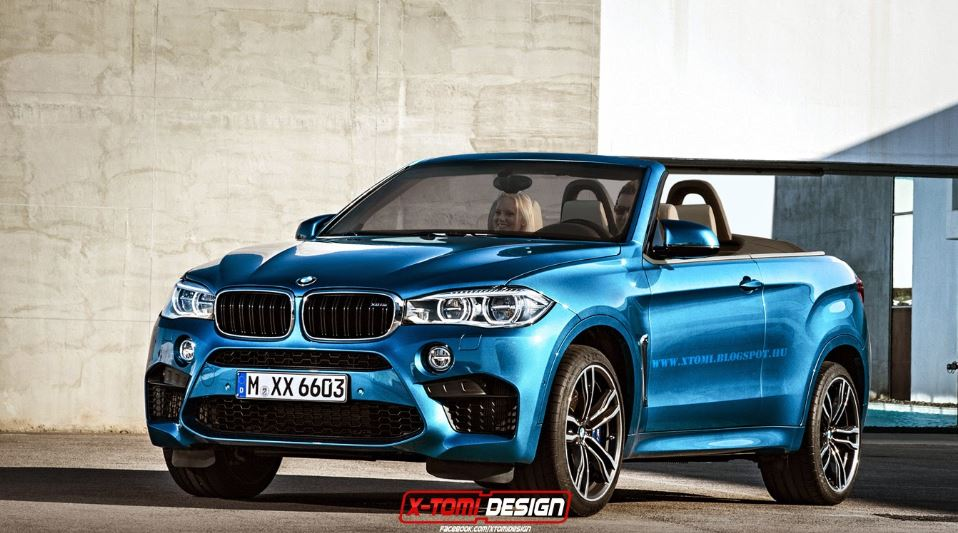 BMW X6 M Convertible Launched in Rendering