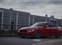 F30 BMW 335i M Sport on Velgen Wheels