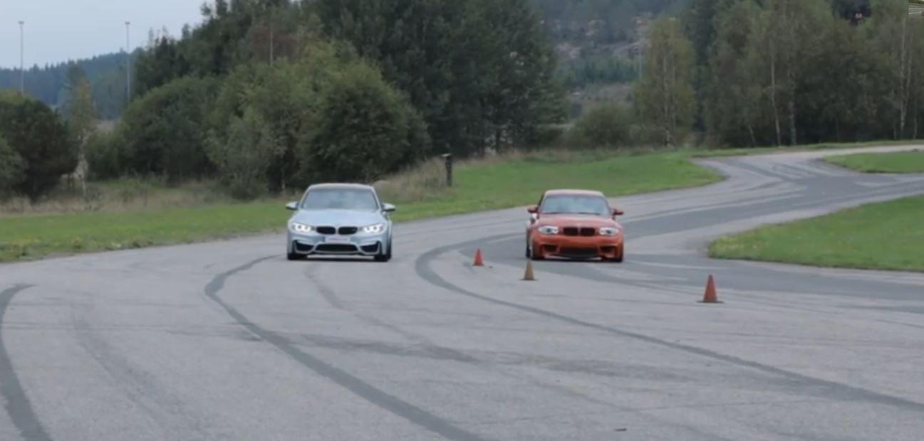 F80 BMW M3 vs. BMW 1M