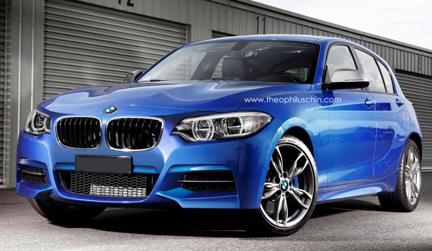 2015 BMW 1-Series Rendering