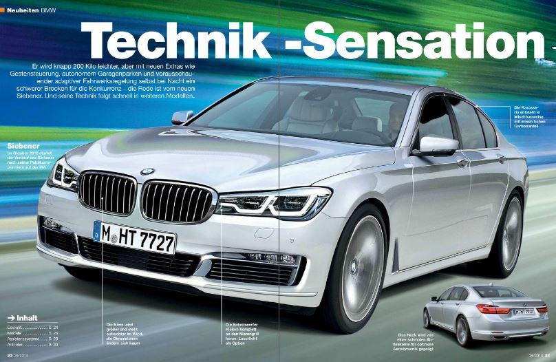 2016 BMW 730d