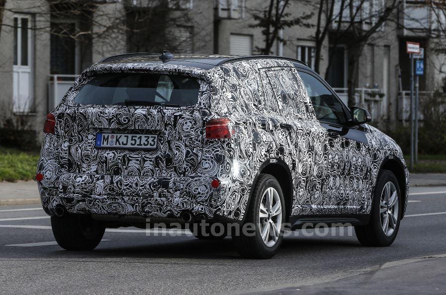 2016 BMW X1 Spy Shots