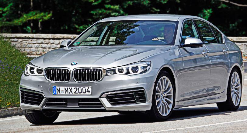 2016 G30 BMW 5-Series