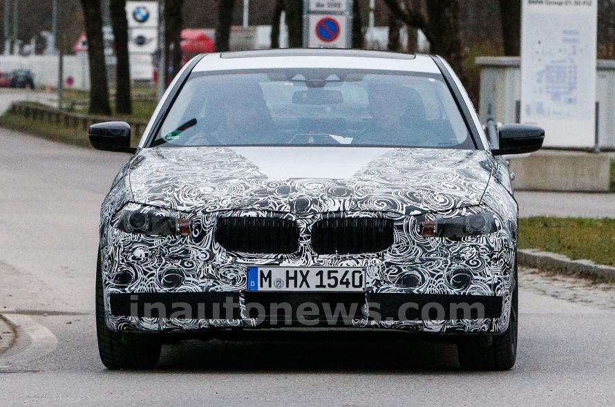 2017 BMW 5-Series Coming in First Shots