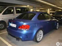 BMW 1M Frozen Blue