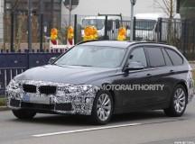 2016 BMW 3-Series Sports Wagon (Touring) Spy Shots