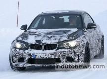 2016 BMW M2 Spy Shot