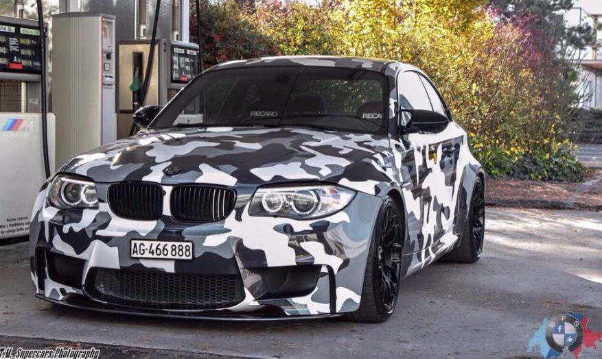 BMW 1M Camouflage Vinyl