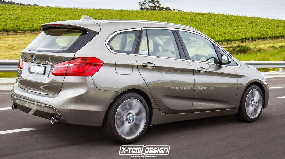 BMW 2-Series Gran Tourer 7-Seater Rendering