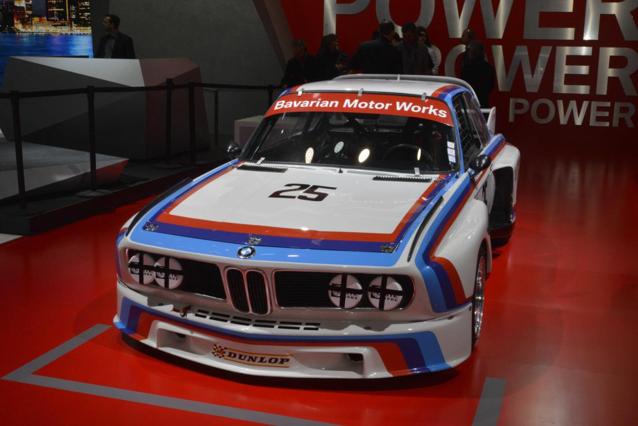 BMW brought the 3.0 CSL racer at Detroit