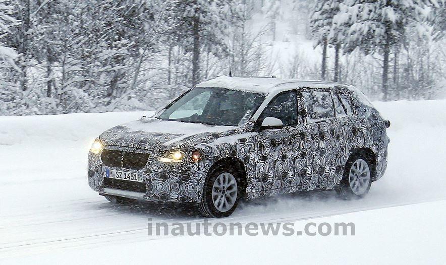 BMW FAST Spy Shot