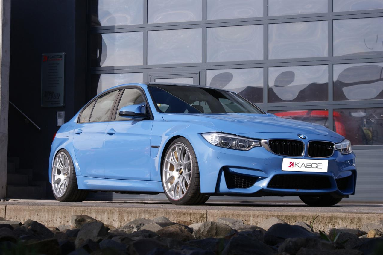 Kaege offers a power boost kit for the BMW M3