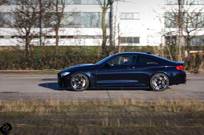 BMW M4 Azurite Black with M Performance Parts  BMWCoop