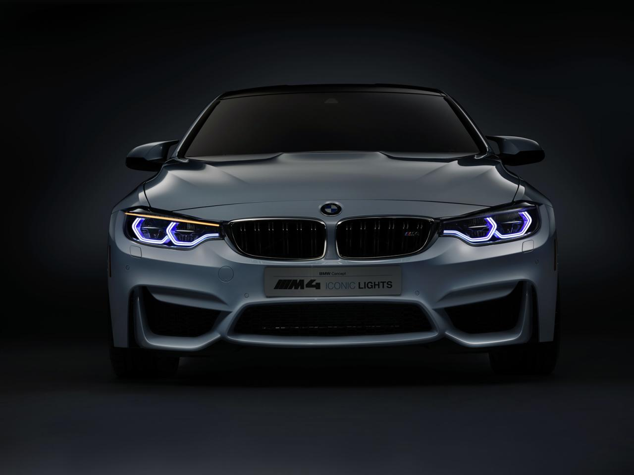 BMW M4 Concept Iconic Lights shows up in Vegas