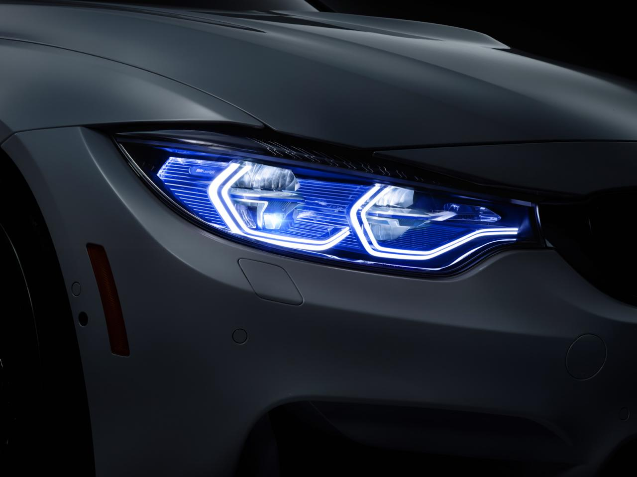 Sport Series bmw laser headlights BMW M4 Concept Iconic Lights shows up in Vegas | BMWCoop
