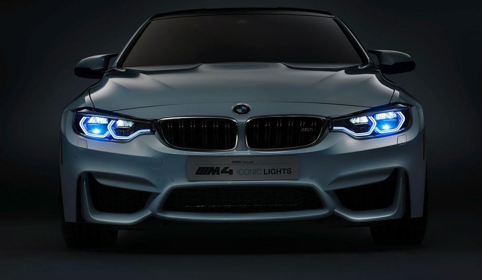 BMW M4 Concept Iconic Lights Revealed in Video