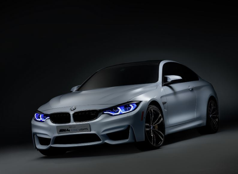 BMW M4 Iconic Lights Banned for Geneva