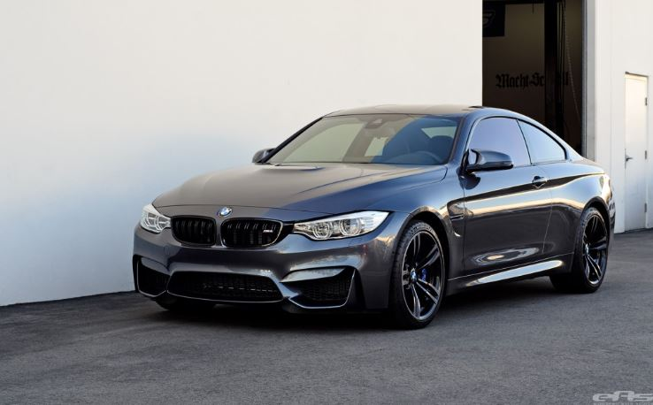 BMW M4 Mineral Grey with M Performance by EAS
