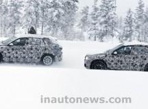 BMW X1 and BMW FAST Spy Shot