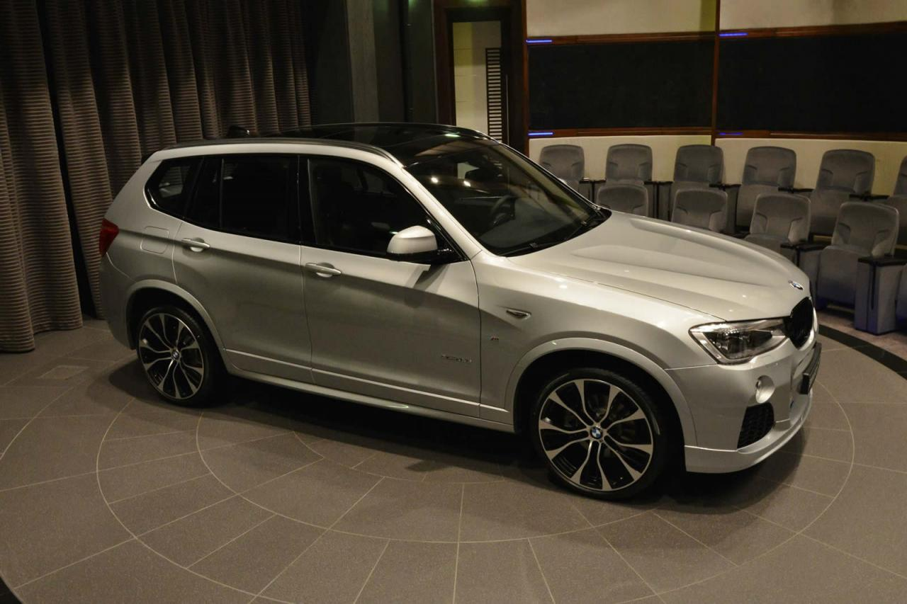 BMW X3 with M Performance parts shows up at BMW Abu Dhabi Motors