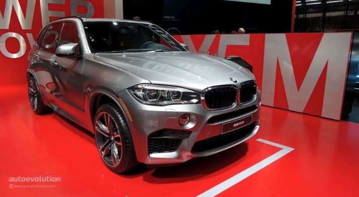 2015 NAIAS: BMW X5 M Launched