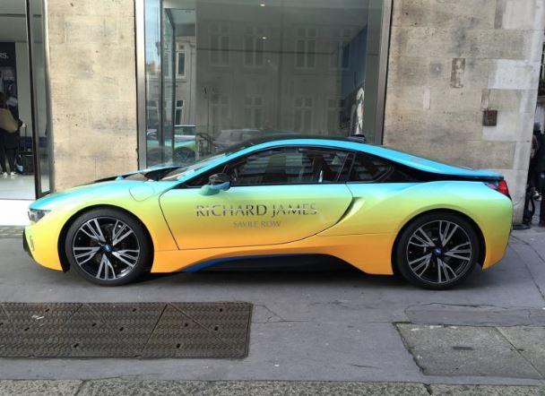 BMW i8 by Richard James