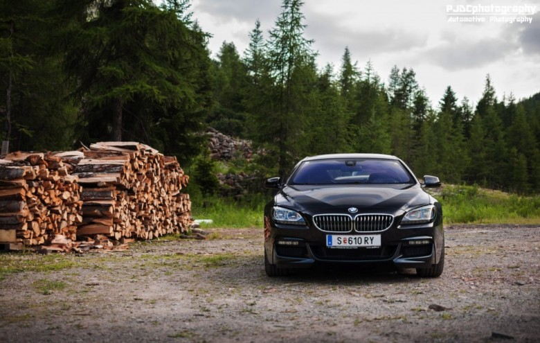 2015 BMW 6-Series Gran Coupe Gets Photo Session