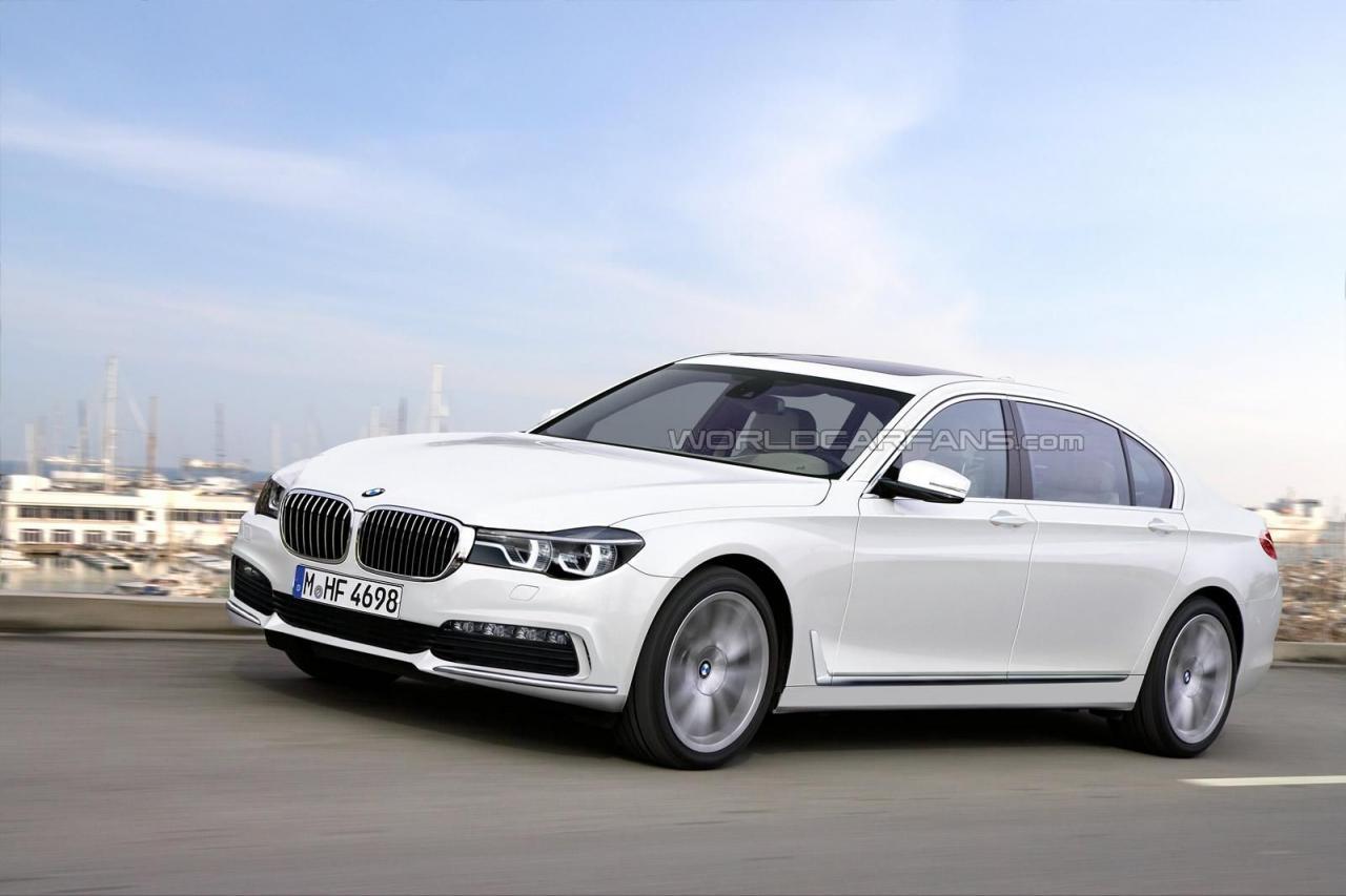 2016 BMW 7-Series Rendering