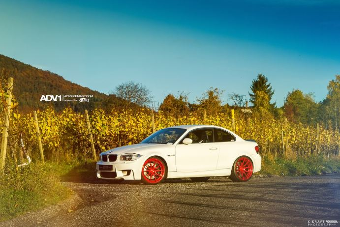 BMW 1M Alpine White Photo Session by C-Kraft Photography