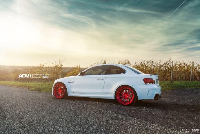BMW 1M Alpine White Photo Session