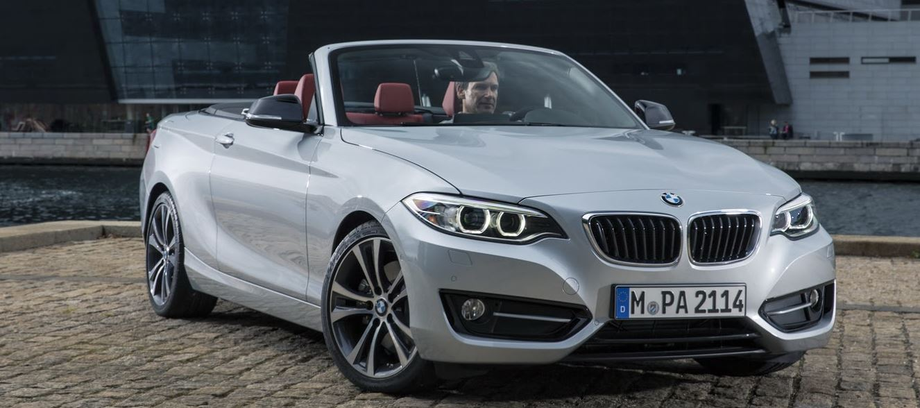 BMW 2-Series Convertible Arrives at the 2015 Chicago Auto Show