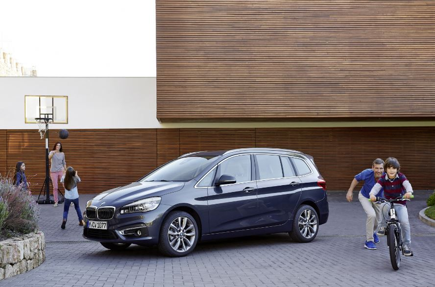 BMW 2-Series Gran Tourer Goes Official